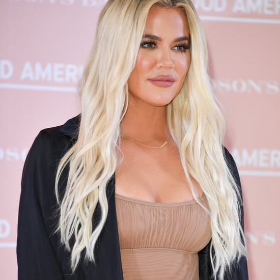 Khloé Kardashian's Coral Red Nail Polish Colour