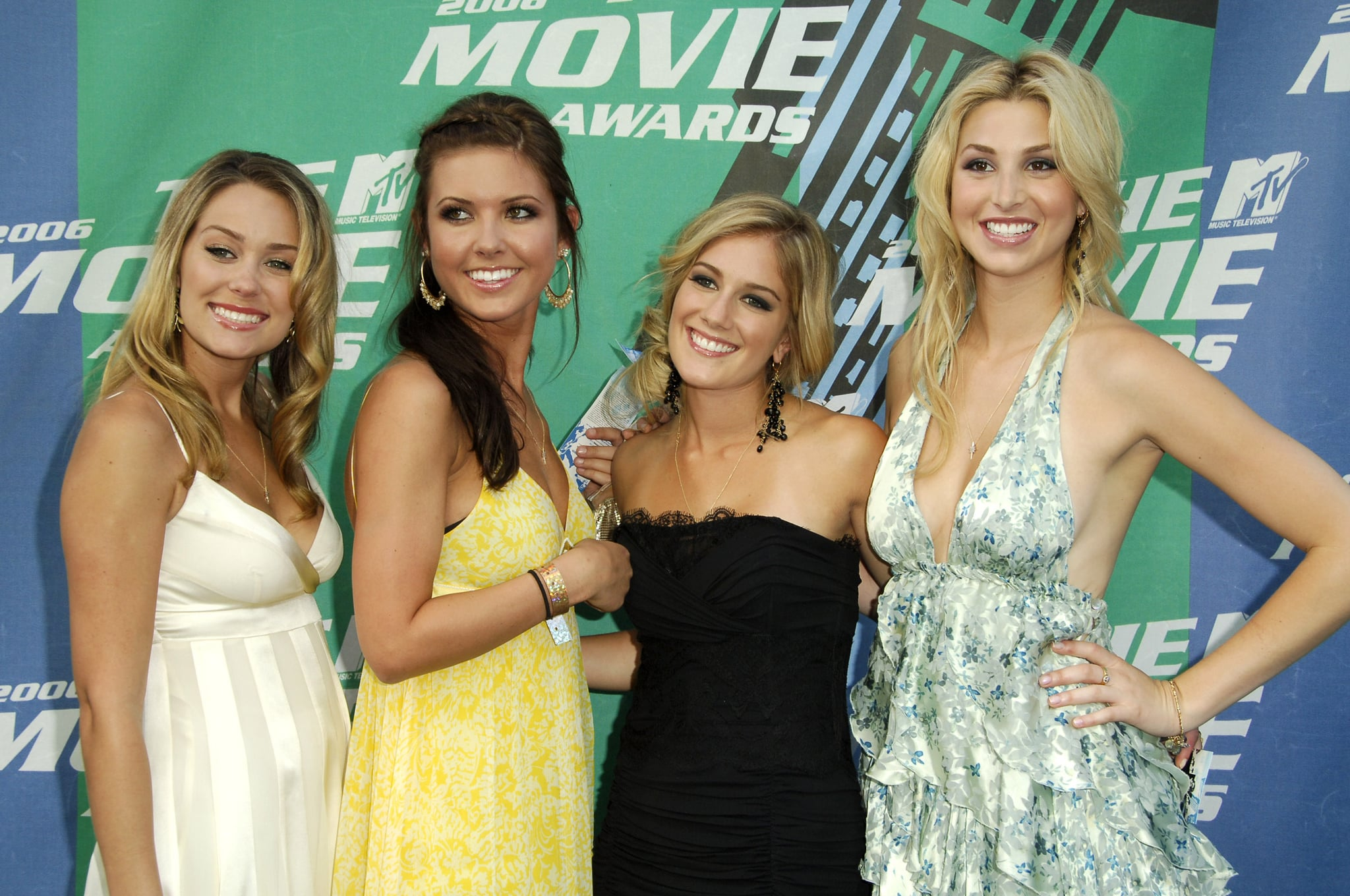 Lauren Conrad, Audrina Patridge, Heidi Montag and Whitney Port of