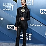 Margaret Qualley at the 2020 SAG Awards
