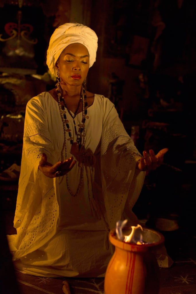 Angela Bassett as Marie Laveau in Coven