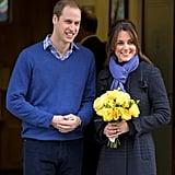 December 3, 2012: William and Kate announce they are expecting a baby