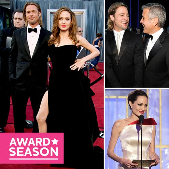 Brad and Angelina's Best 2012 Award Season Moments!