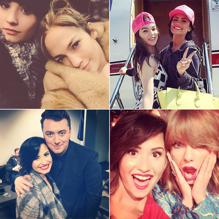 Demi Lovato and Famous Friends Instagram Photos