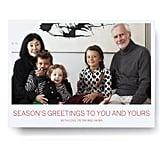 Classic Polaroid Happy Holidays Photo Card from Pinhole Press ($1-$2 per card)