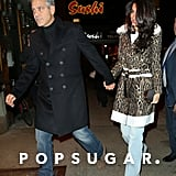George Clooney and Amal Alamuddin in NYC March 2015