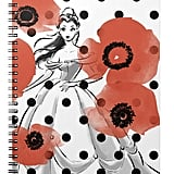 Belle With Poppies and Polka Dots Notebook ($14)
