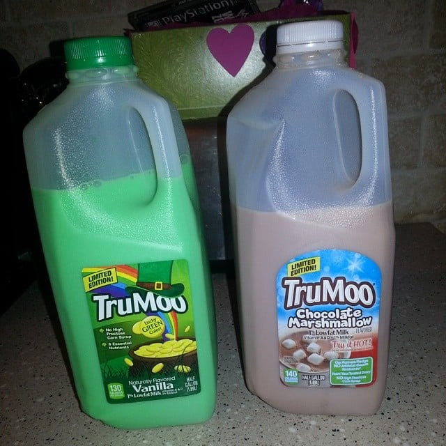 Nothing Says Fresh Milk Like the Color Green