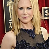 Nicole Kidman Dazzles in Navy at the SAG Awards