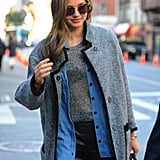 Miranda Kerr Heads to Rehearsals For the VS Lingerie Show
