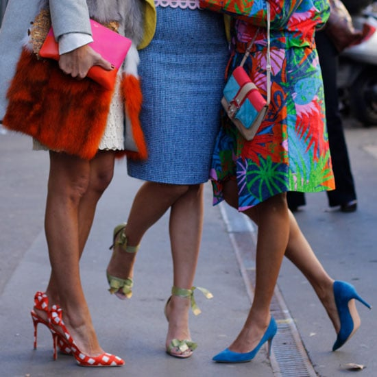 Spotted on the Streets of Milan: Pointy-Toe Pumps