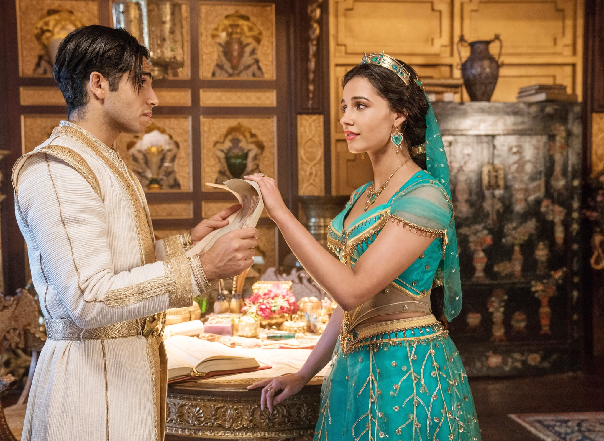 Hairstylist Interview For The Aladdin Live Action Movie Popsugar Beauty