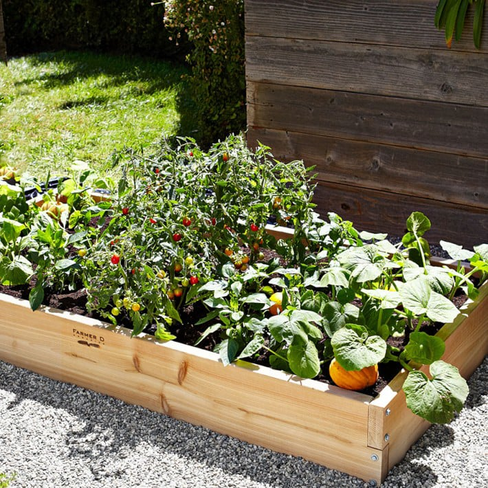 Cedar Raised Bed Kit