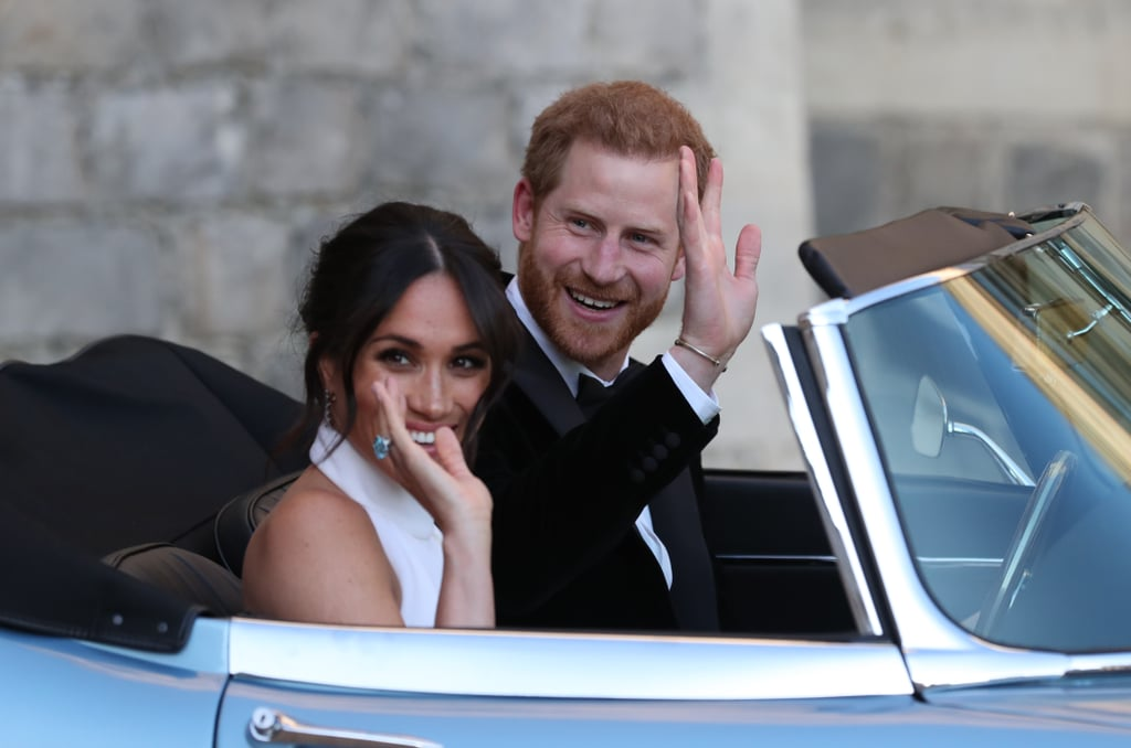 May: When the Lovebirds Drove Off to Their Wedding Reception