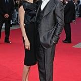 Brad Pitt und Angelina Jolie beim 33rd Deauville American Film Festival zur Premiere von The Assassination of Jesse James im September 2007.