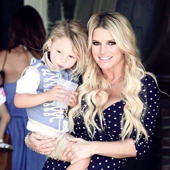 Jessica Simpson's Cute Pictures With Son Ace