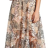 Dress the Population Juliana Crop Top & Skirt Set