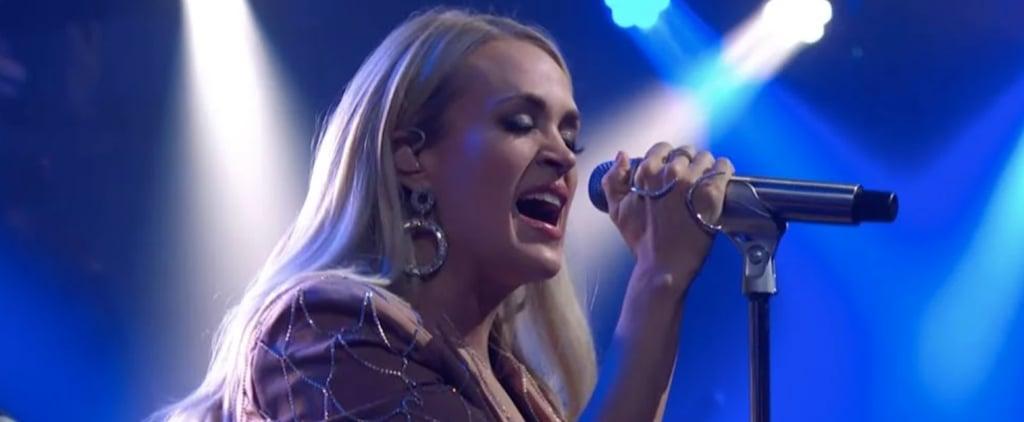 """Carrie Underwood Performing """"Low"""" on Colbert Video"""