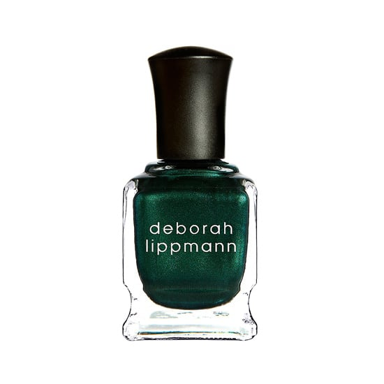 Emerald is the Pantone color of 2013, and Deborah Lippmann Laughin to the Bank ($17) provides a spot-on way to try the hue.