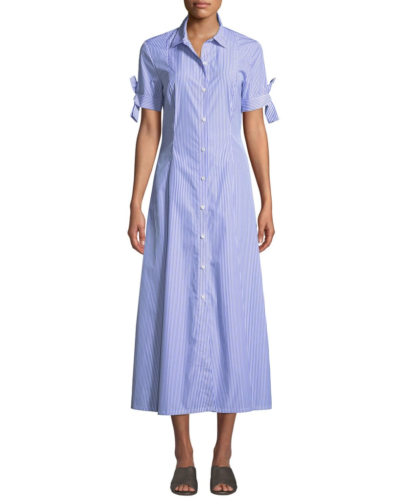 Theory Dalton Long Shirtdress