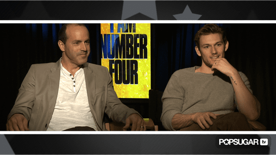 Video of Alex Pettyfer and DJ Caruso Talking About I Am Number Four