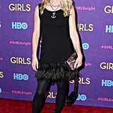 Nanette Lepore at the Girls premiere.