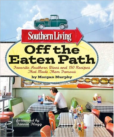 Author Morgan Murphy traveled to the best dives and hidden gems the South has to offer to collect solid recipes for Southern Living Off the Eaten Path. This sounds like our kind of Summer road trip.  Can't Wait to Taste: Peach Pie from Pie Lab in Greensboro, AL
