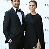 Keri Russell and Matthew Rhys at Met Opera Opening 2016