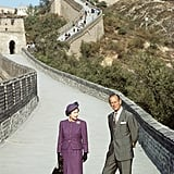 A landmark visit to China in 1986 — the first for a reigning British monarch.