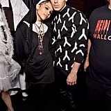Zoë Kravitz and Joe Jonas posed together as a nun and Derek Zoolander at Heidi Klum's Halloween party in 2014.