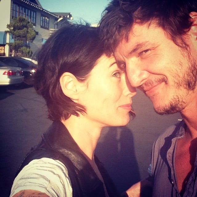 Behind the scenes&Bloopers - Page 2 Lena-Headey-Pedro-Pascal-caught-some-rays-April-2014