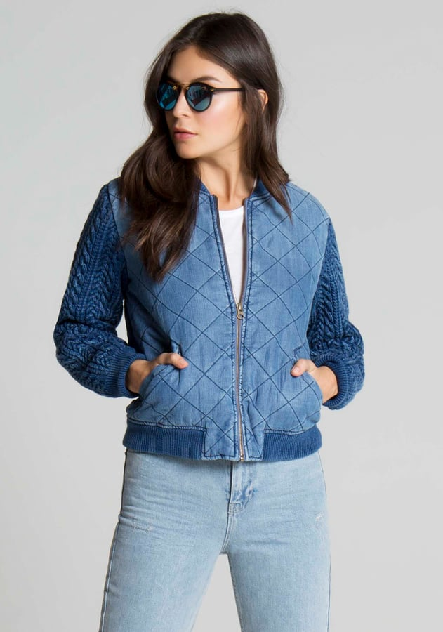 Baby Blues | Unique Bomber Jackets For Spring
