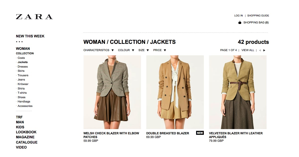 European clothing online stores