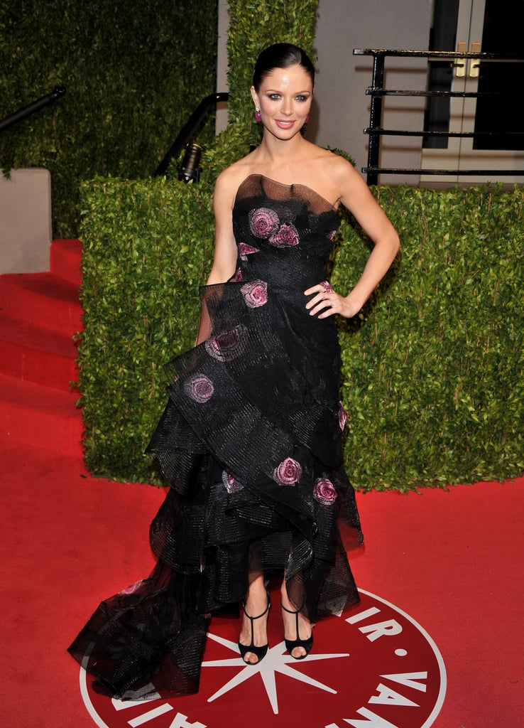 >> Designers are well-represented at the Academy Awards when it comes to gowns, but a few made the pilgrimage to Los Angeles themselves to have their own Oscars red carpet moment. Georgina Chapman, Valentino Garavani, and Tara Subkoff made an awards appearance, while Diane von Furstenberg, Carolina Herrera, Jason Wu, Tom Ford and the like hobnobbed later at Vanity Fair's after party.