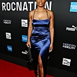 Ari Lennox at the 2020 Roc Nation Brunch in LA