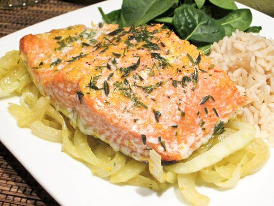 Roasted Salmon With Fennel and Orange Zest