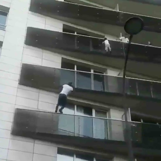 Man Scales Building to Save Dangling Toddler