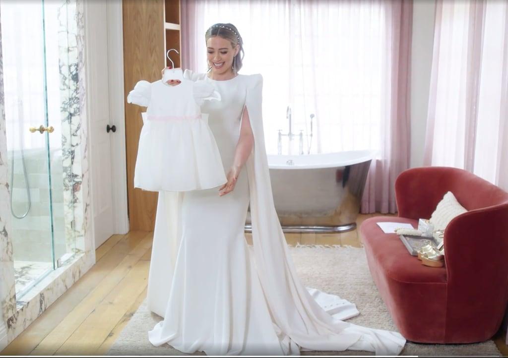 Hilary Duff's Jenny Packham Wedding Dress Video | POPSUGAR Fashion