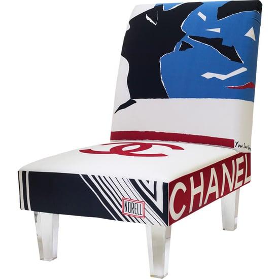 Crave Worthy: Bespoke Silk Scarf Chair