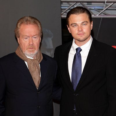 Leonardo DiCaprio and Ridley Scott Premiere Body of Lies in Rome
