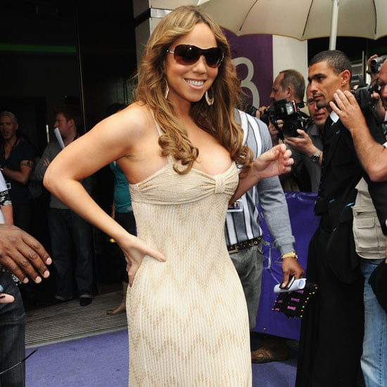 Mariah Carey was spotted leaving her hotel to attend a photo call for Precious in 2009.