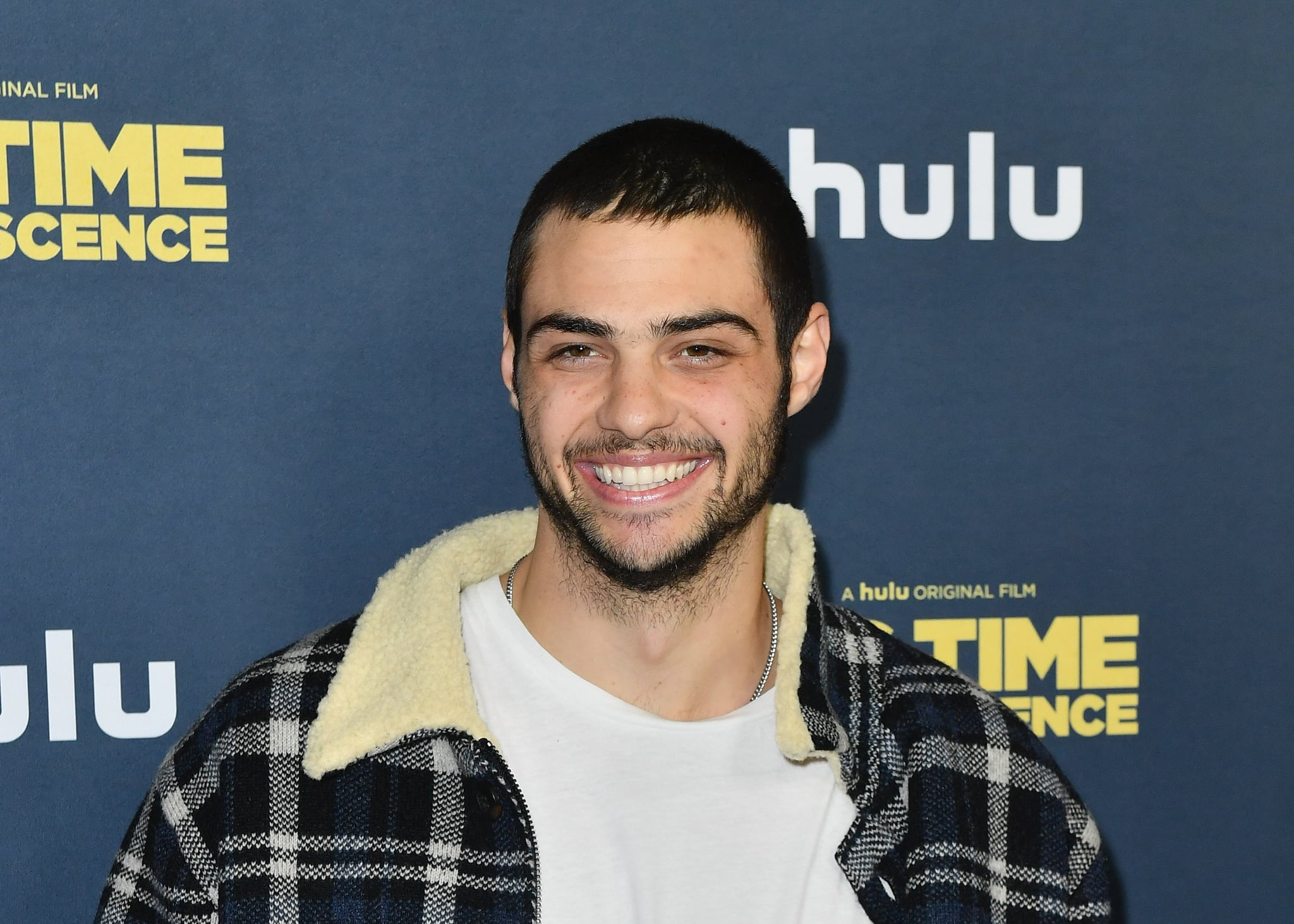US actor Noah Centineo attends the premiere of Hulu's