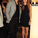 Model of the Year nominee David Gandy went for a smart casual look.