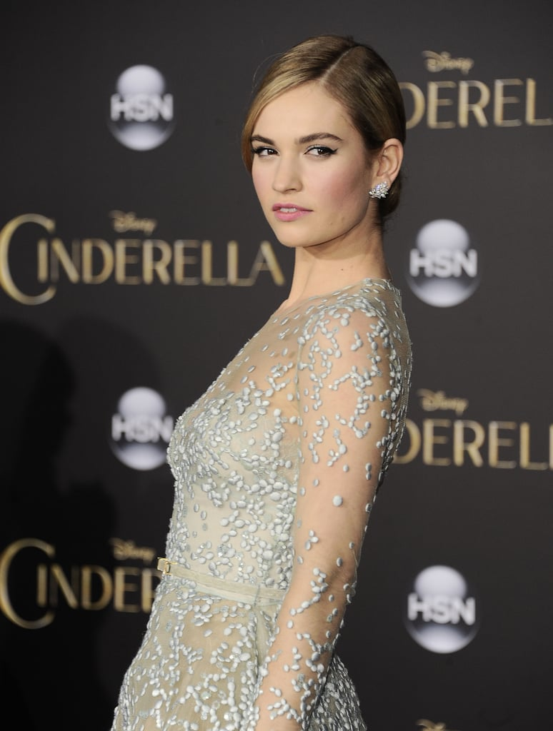 Lily James = Lily Chloe Ninette Thomson