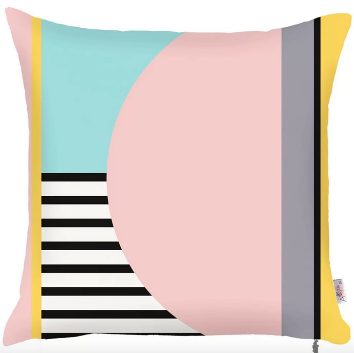 Kinman Square Printed Pillow Cover