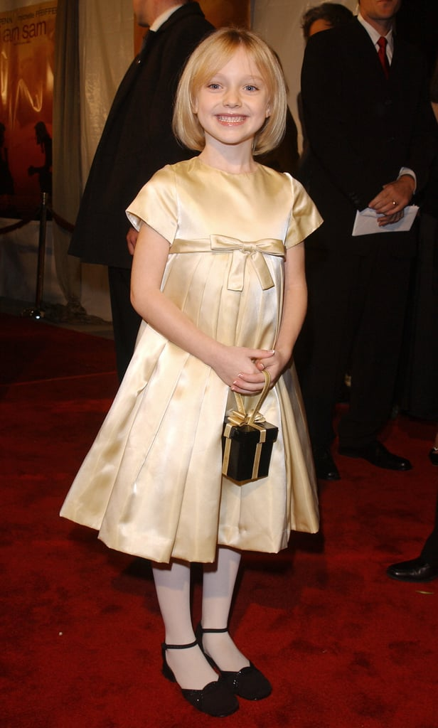 Dakota at the I Am Sam Premiere