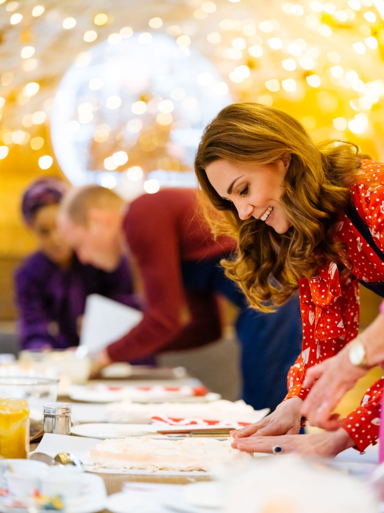 Kate Middleton With Mary Berry on a Berry Royal Christmas TV