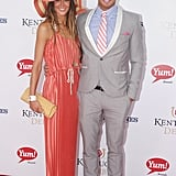 Kellan Lutz hit the red carpet with his then-girlfriend, Sharni Vinson, in 2012.
