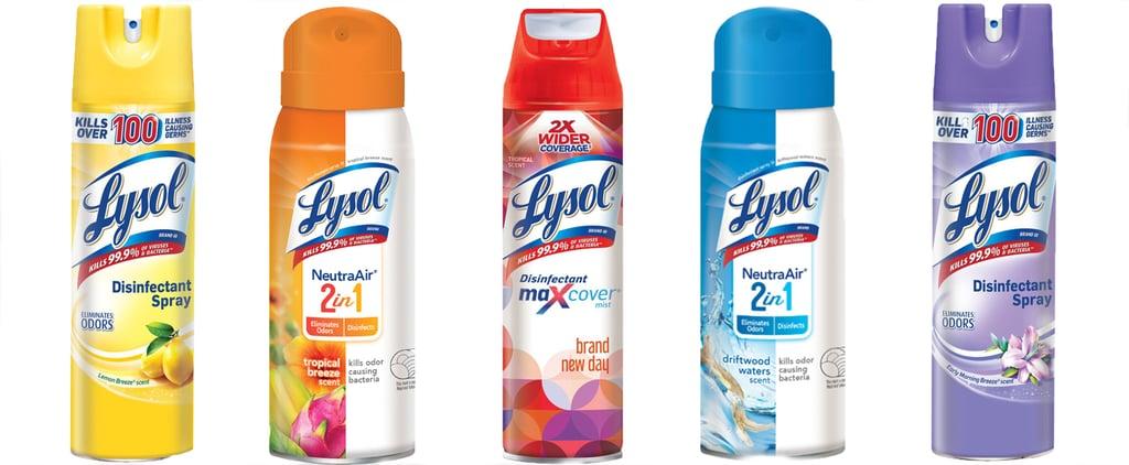 EPA Approves 2 Lysol Disinfectants That Kill COVID-19 Virus