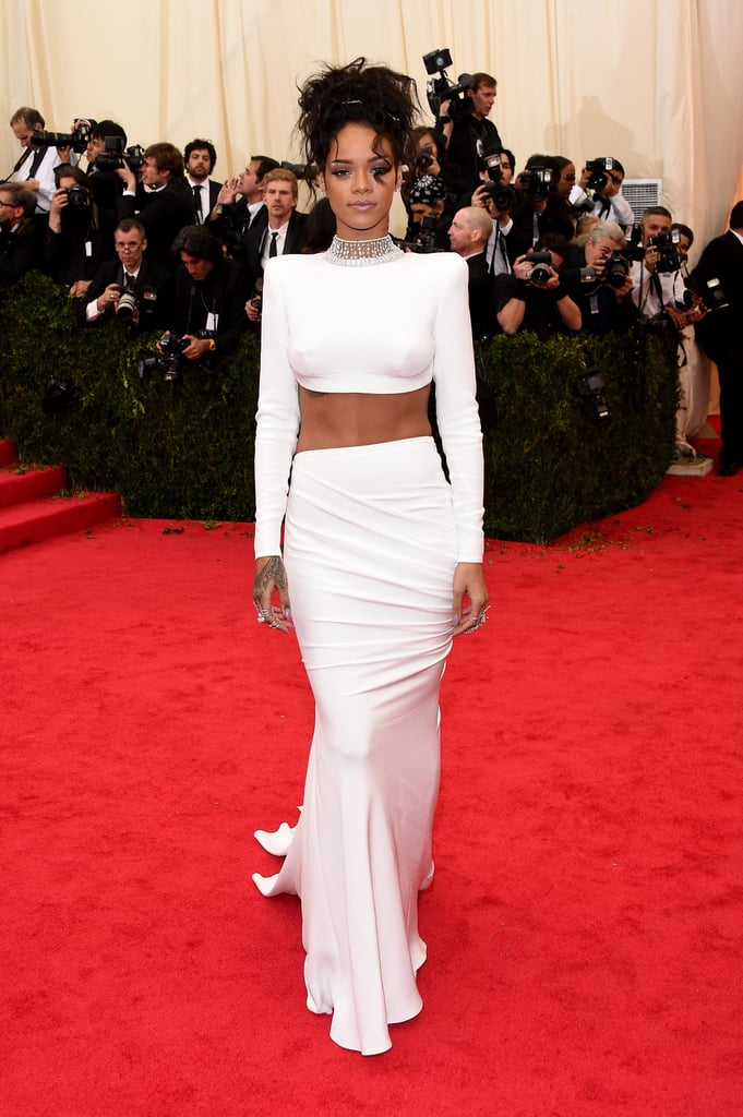 Rihanna at the 2014 Met Gala