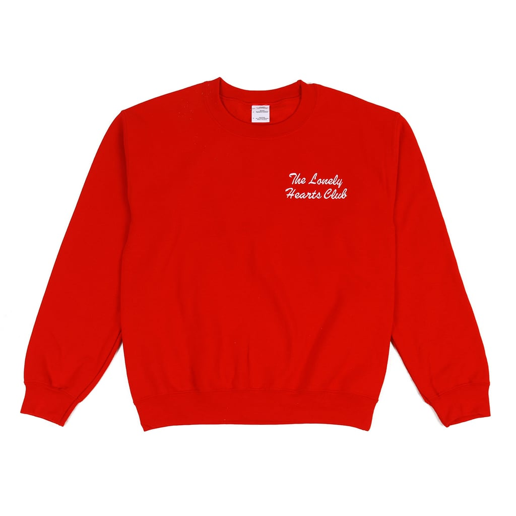 Doublt Trouble The Lonely Hearts Club Jumper, $129